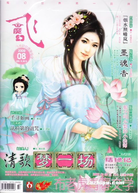 魔法小说q版封面素材