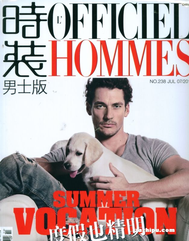 时装-男装2010年7月期封面图片-杂志铺zazhipu