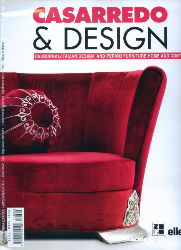 design室内装饰与设计(意大利)杂志封面,内容精彩试读图片