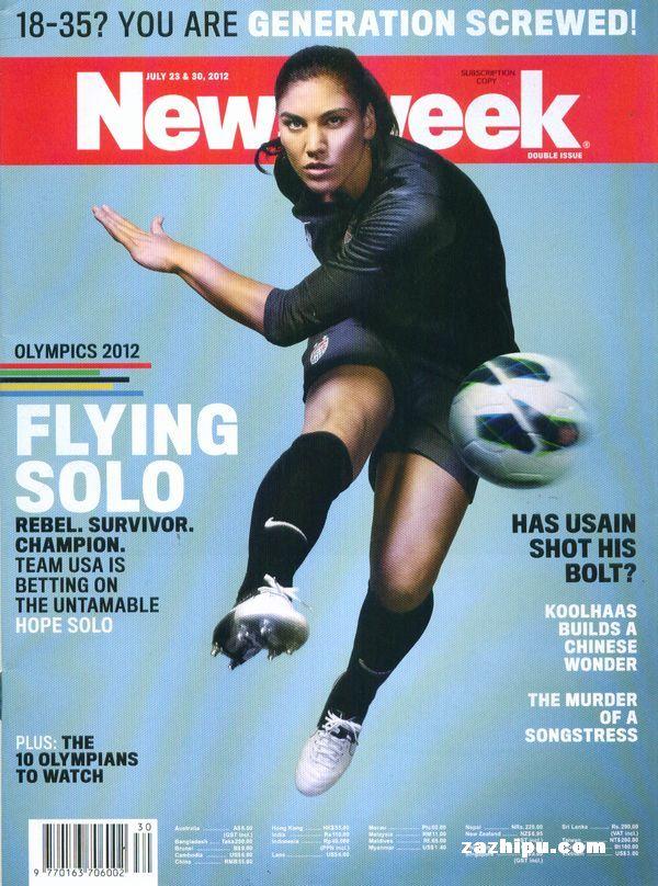 新闻周刊亚太版Newsweek2012年4月2期 新闻