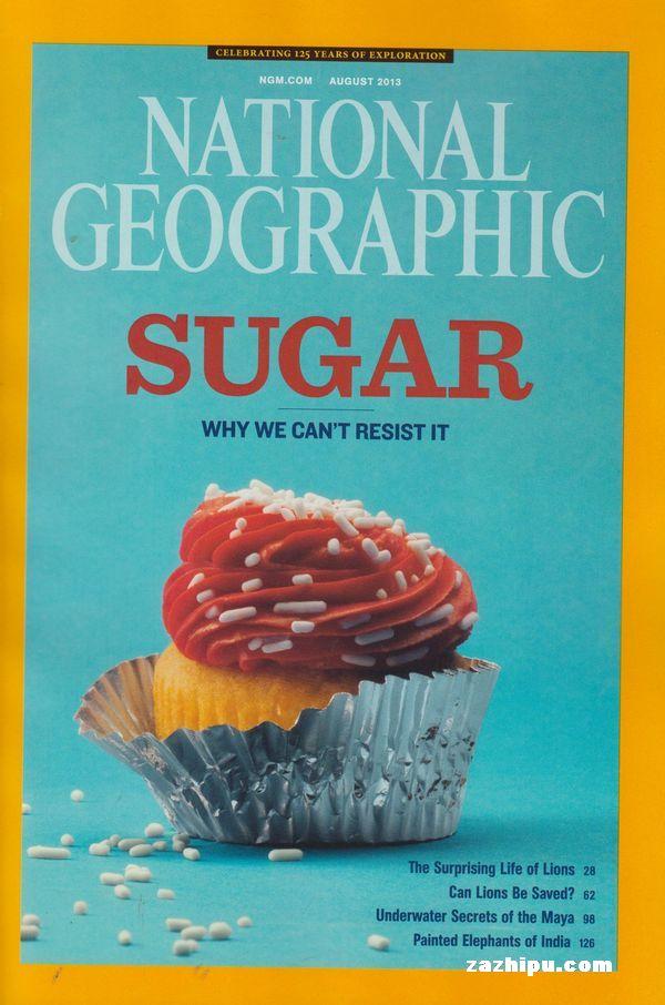 美国国家地理(英杂志封面 美国国家地理(英)2013年8月期-美国国家