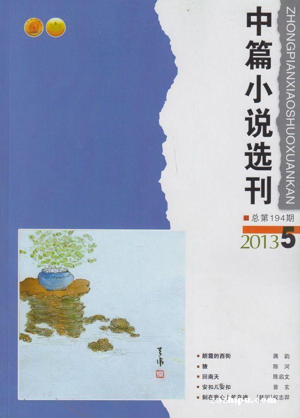 中篇小说选刊2013年第5期