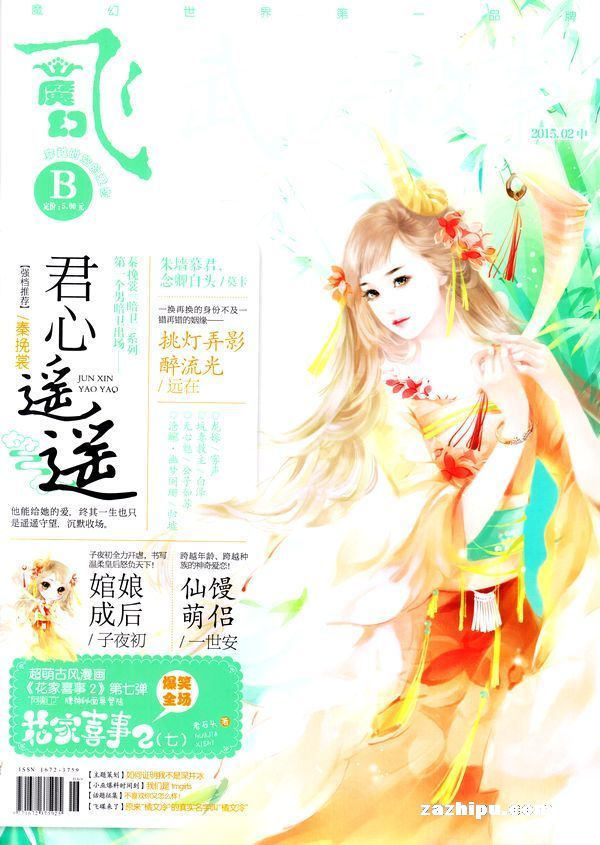 飞魔幻b版2015年1月期 花火飞 魔幻b版订阅 杂