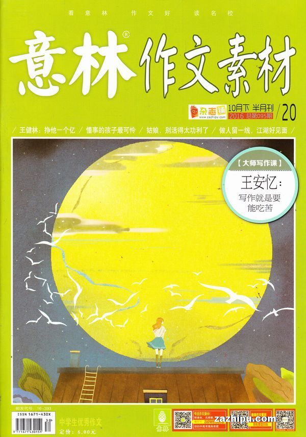 意林作文素材杂志封面
