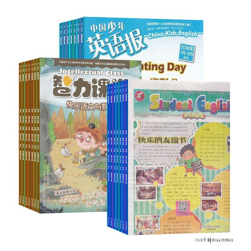 中国少年英语报五六年级版 智力课堂五六年级版 学生英语报小学六年
