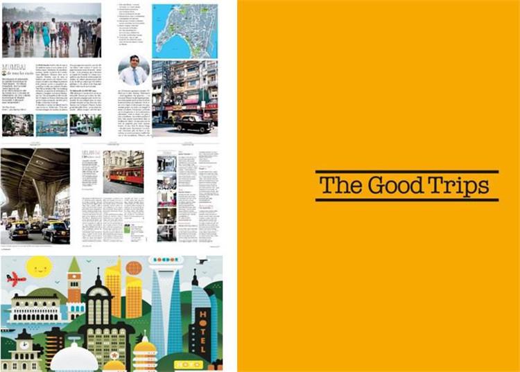 杂志第一部分阅读节奏紧凑,文章内容涵盖最新的消费趋势 (包括高科技