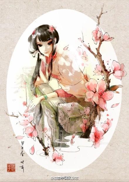 戀戀中國風錦色圖片