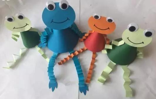 【创意手工】我是小青蛙,要呀要回家!